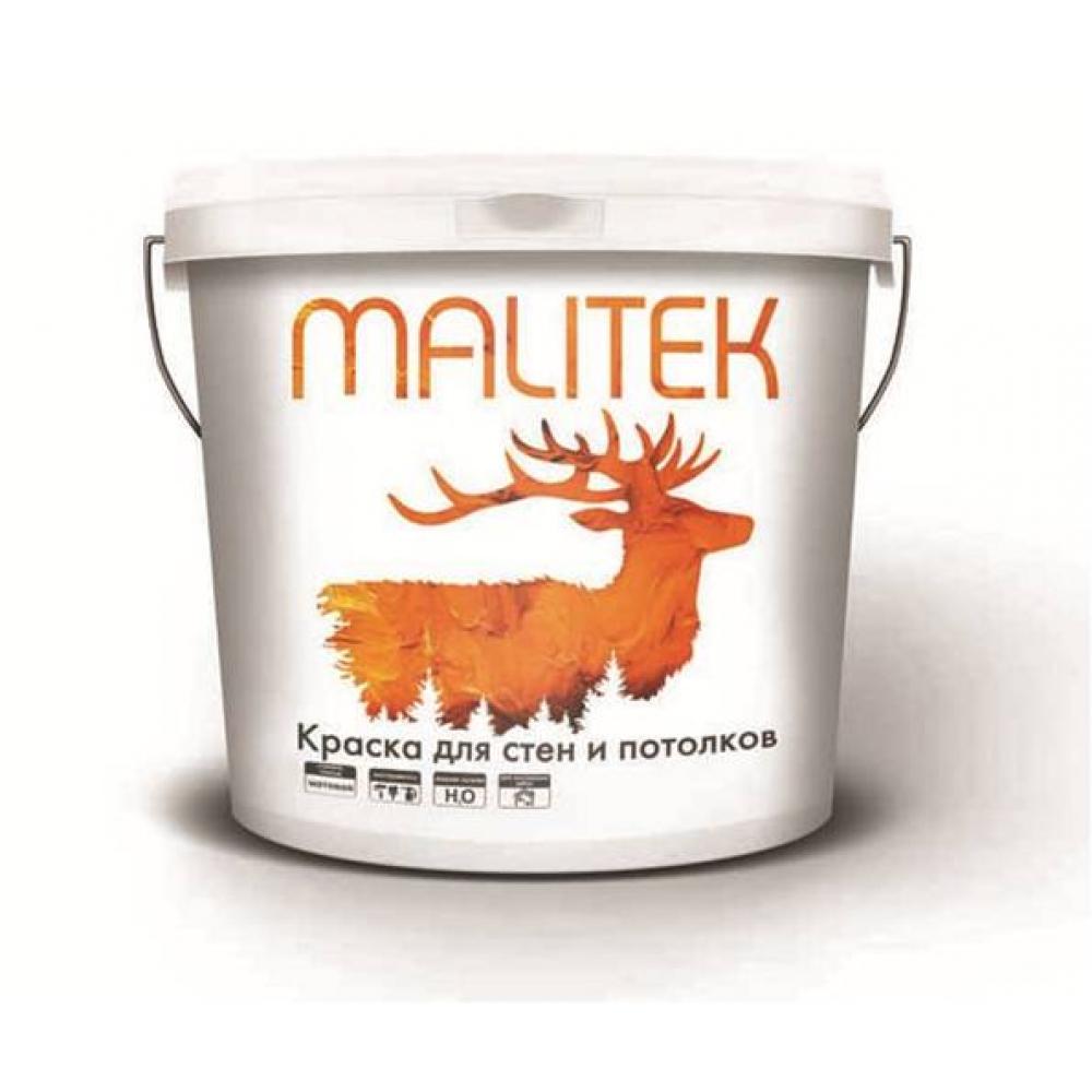 Водно-дисперсионная краска Malitek для стен и потолков