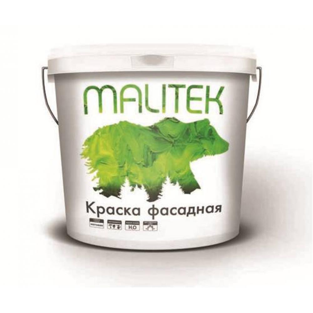 Водно-дисперсионная краска Malitek фасадная