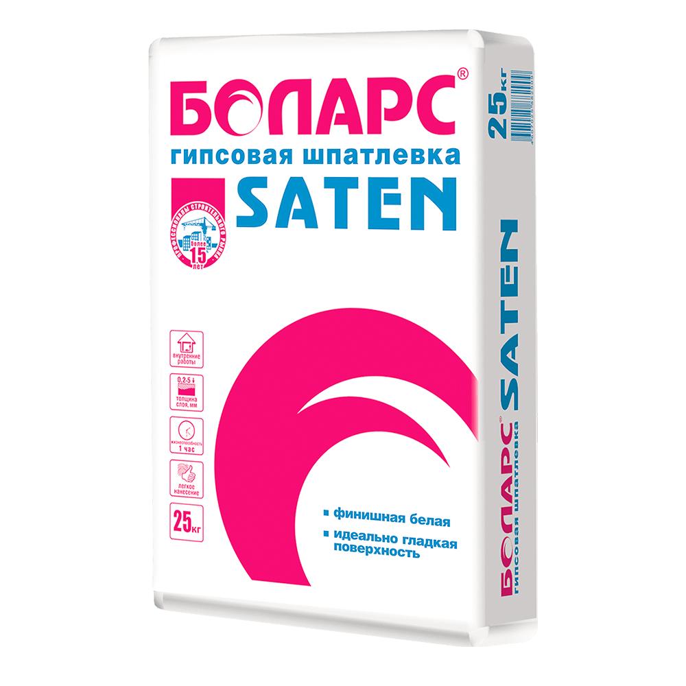 Гипсовая шпатлевка Боларс SATEN 25 кг