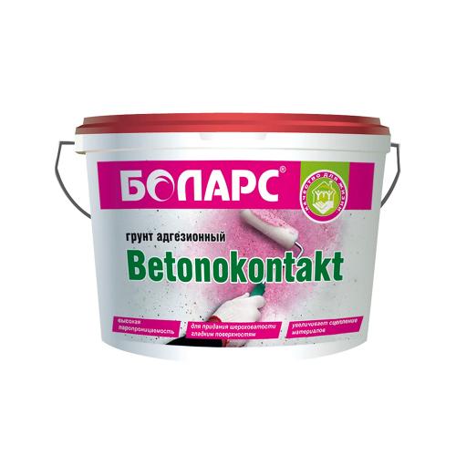 Грунтовка боларс БЕТОНОКОНТАКТ адгезионная