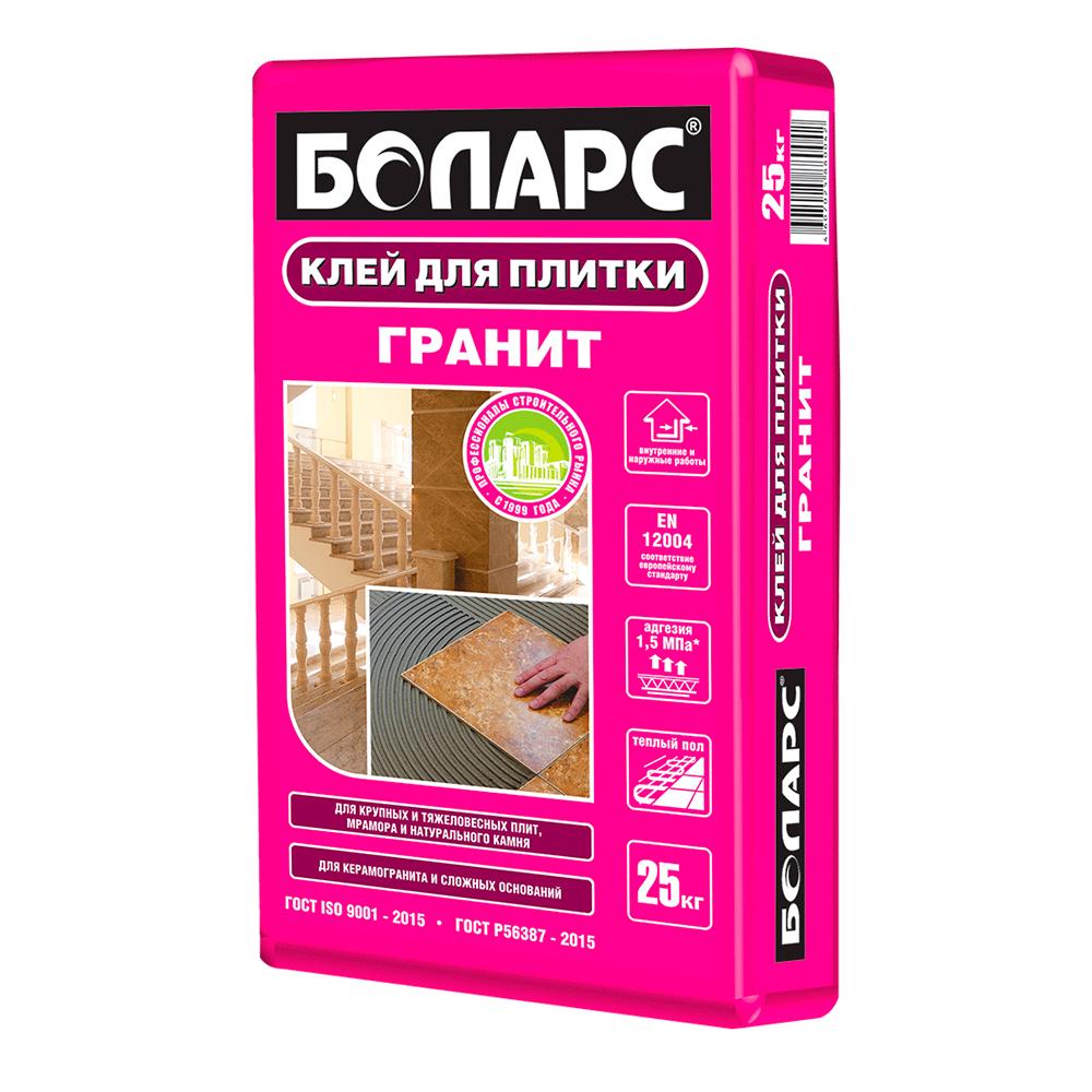 Клей для плитки Боларс ГРАНИТ 25 кг