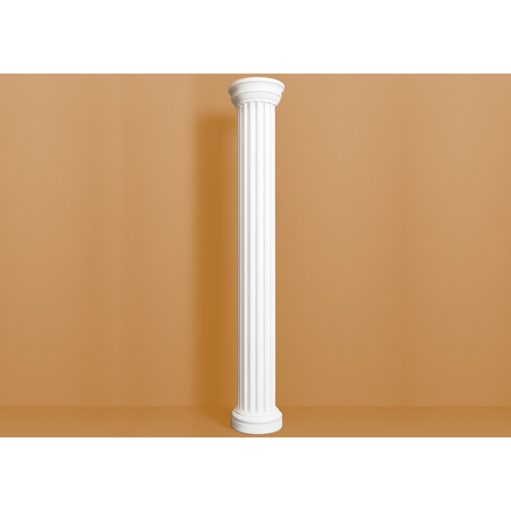 Колонна из полиуретана (пенопласта) КL 101 (КL 101t), размер 255×255×2000 мм