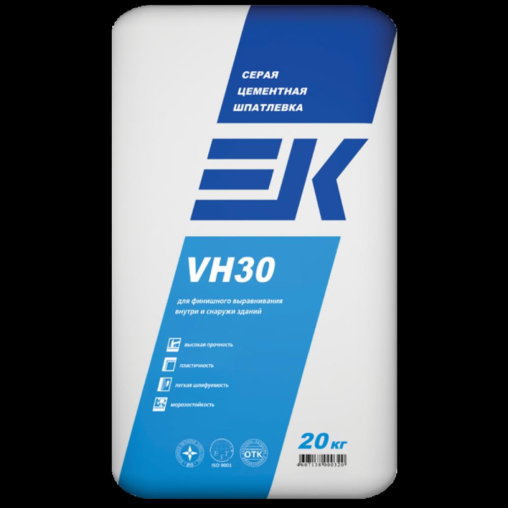 Серая цементная шпатлевка ЕК VH30 ЕК Кемикал