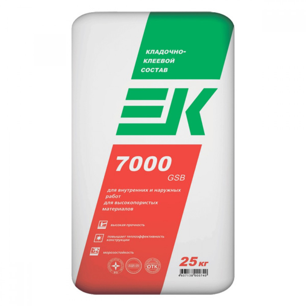 Кладочно-клеевой состав EK 7000 GSB ЕК Кемикал