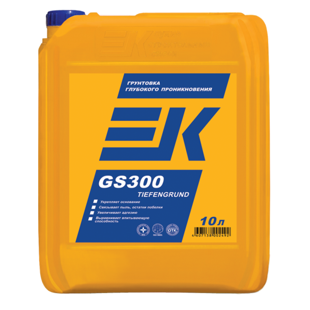 Грунтовка глубокого проникновения EK GS300 TIEFENGRUND ЕК Кемикал