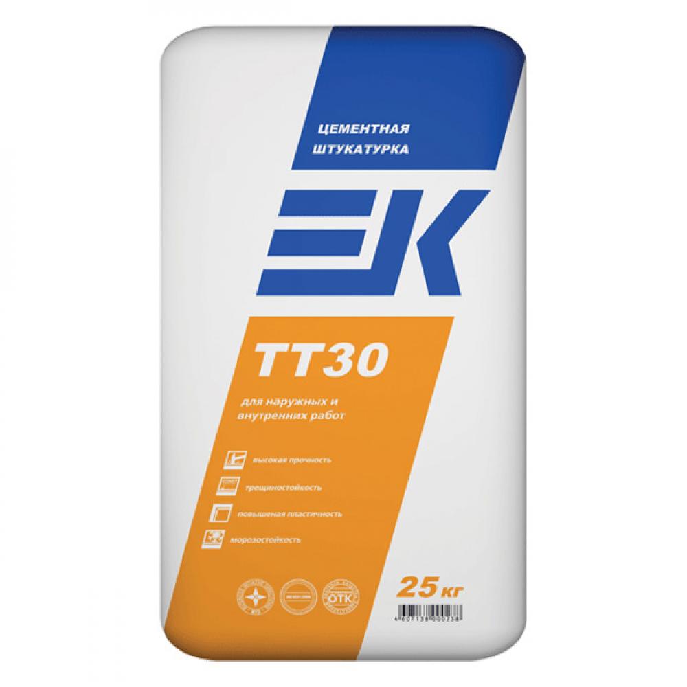 Цементная штукатурка EK TT30 ЕК Кемикал