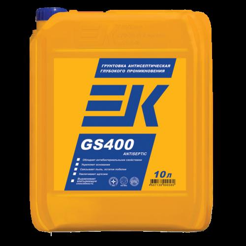 Грунтовка антисептическая глубокого проникновения EK GS400 ANTISEPTIC ЕК Кемикал