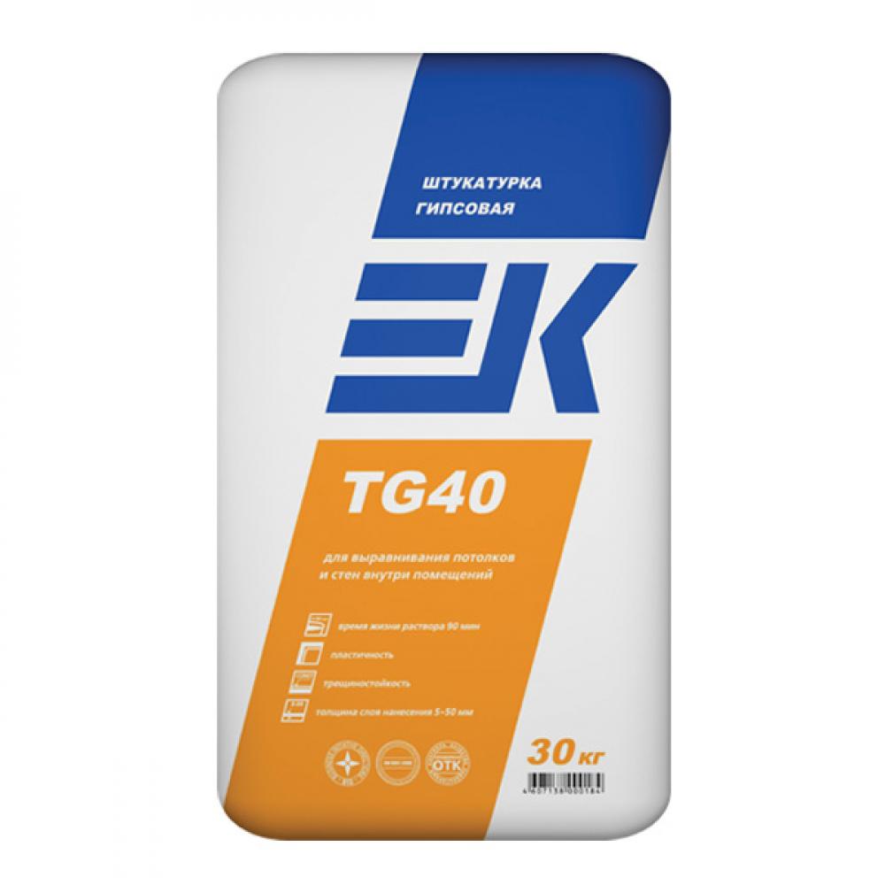 Гипсовая штукатурка ЕК TG40 ЕК Кемикал