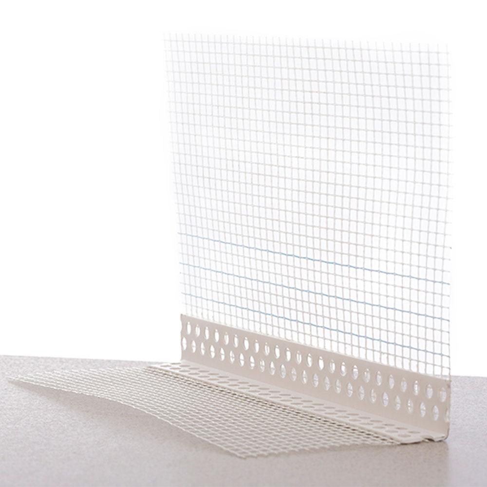 Профиль угловой ПВХ с армирующей сеткой (145гр/м2) 10 х 15, 2,5 м