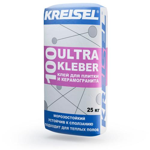 Плиточный клей для наружных работ Kreisel ULTRA KLEBER 100 Морозостойкий