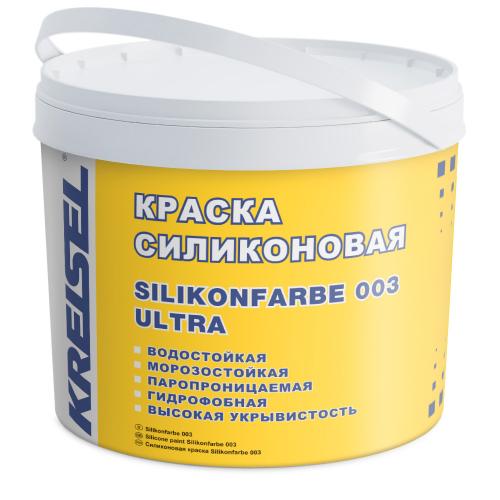 Краска силиконовая SILIKONFABRE 003 Kreisel для фасада
