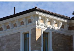 Декорирование фасадов зданий и монтаж фасадного декора