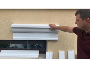 Бесплатная примерка Декора из пенопласта для отделки фасада дома
