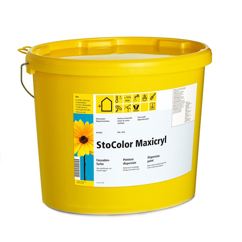 Дисперсионная краска StoColor Maxicryl матовая 15 л
