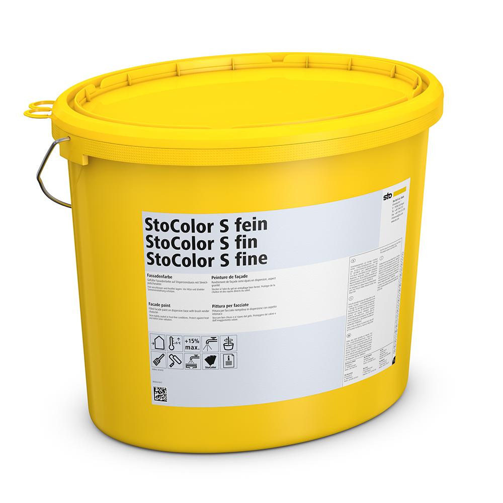 Акриловая краска StoColor S fein (мелкозернистая) 25 кг