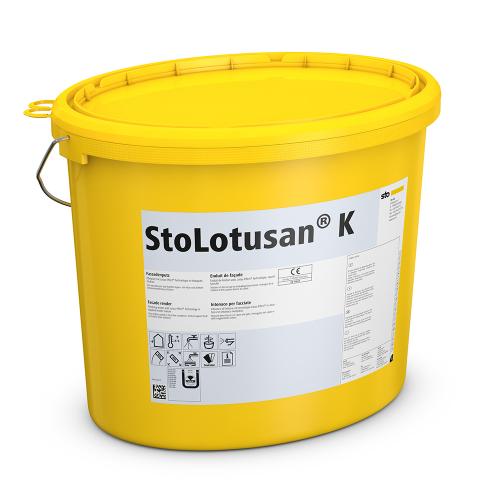 Самоочищающаяся фасадная штукатурка Sto Lotusan, 25 кг