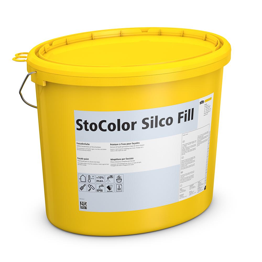 Силиконовая краска StoColor Silco Fill
