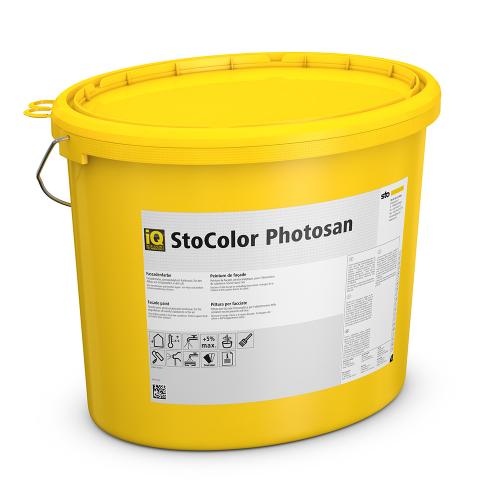 Самоочищающаяся краска StoColor Photosan с фотокаталитическим эффектом, 15 л