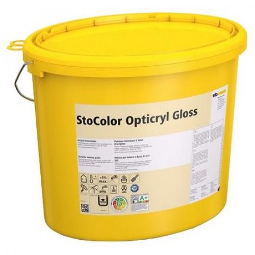 Акриловая краска для внутренних работ StoColor Opticryl Gloss глянцевая 2,5 л