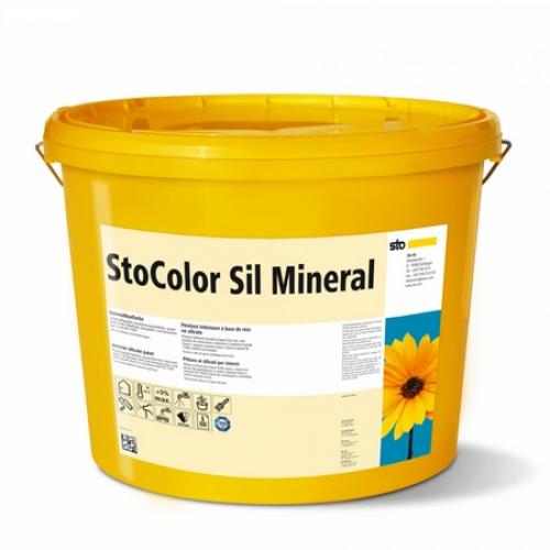 Высокоукрывистая краска для спальни и детской без запаха и вредных примесей StoColor Sil Mineral 10 л