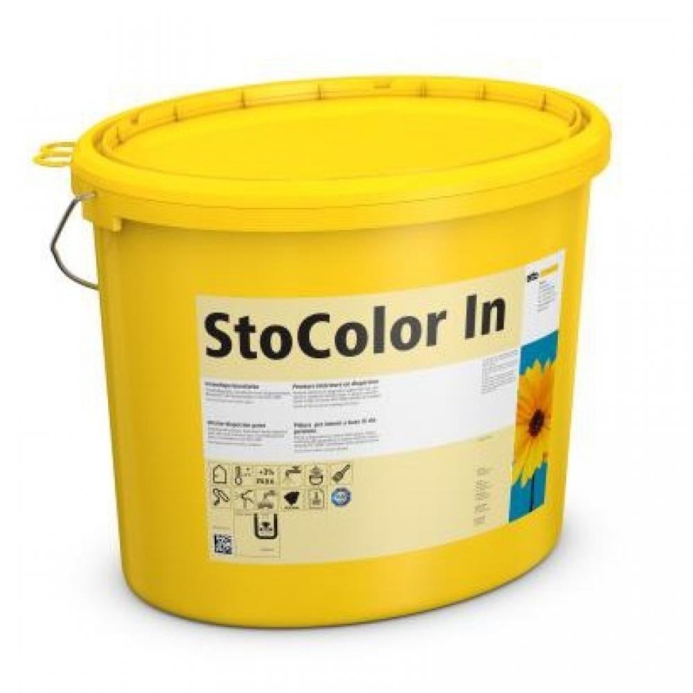 Водно-дисперсионная безвредная акриловая краска для внутренних работ StoColor In матовая 15 л