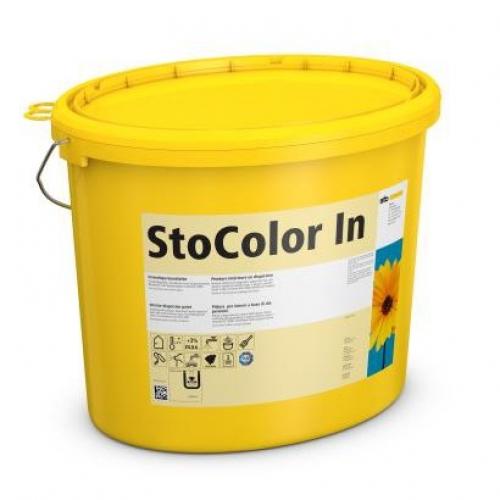 Акриловая краска для стен и потолка спальни StoColor In супербелая 10 л