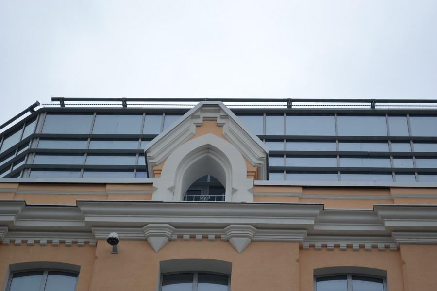 Фасадный материал декора - пенопласт