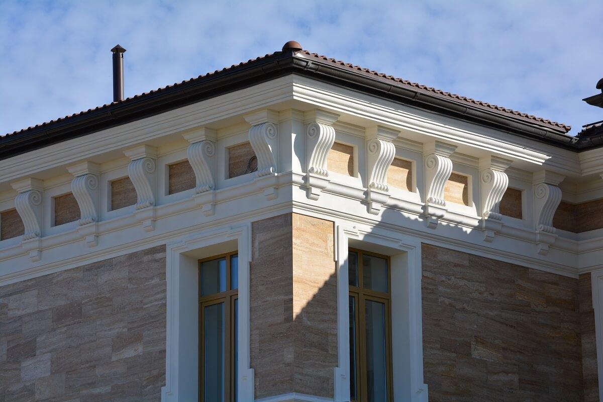 Фасадные консоли из пенопласта