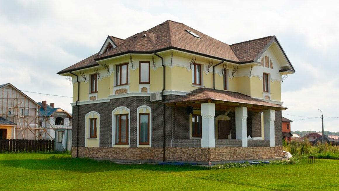 Материал для отделки фасада дома