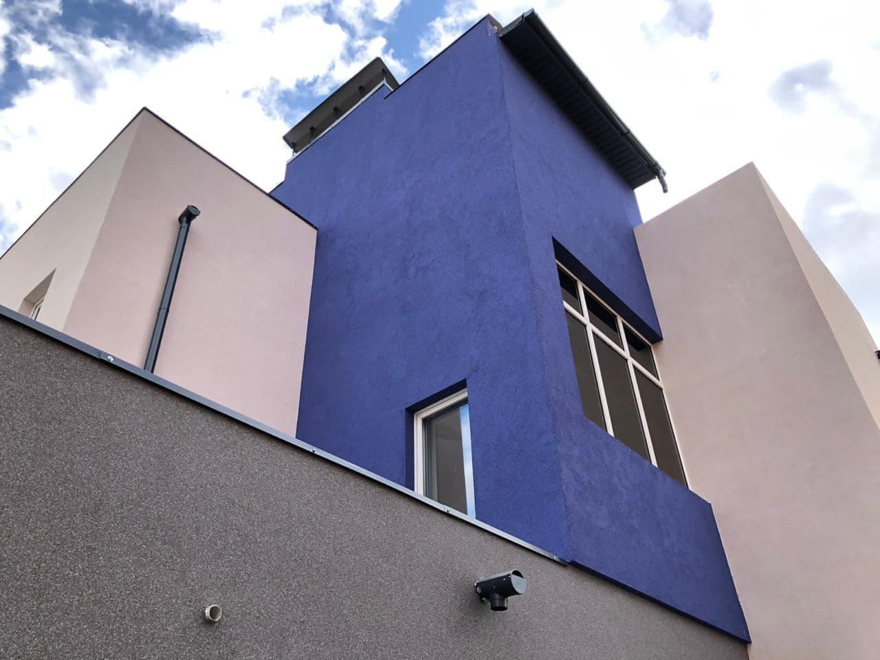 Обзор штукатурки для фасадных работ