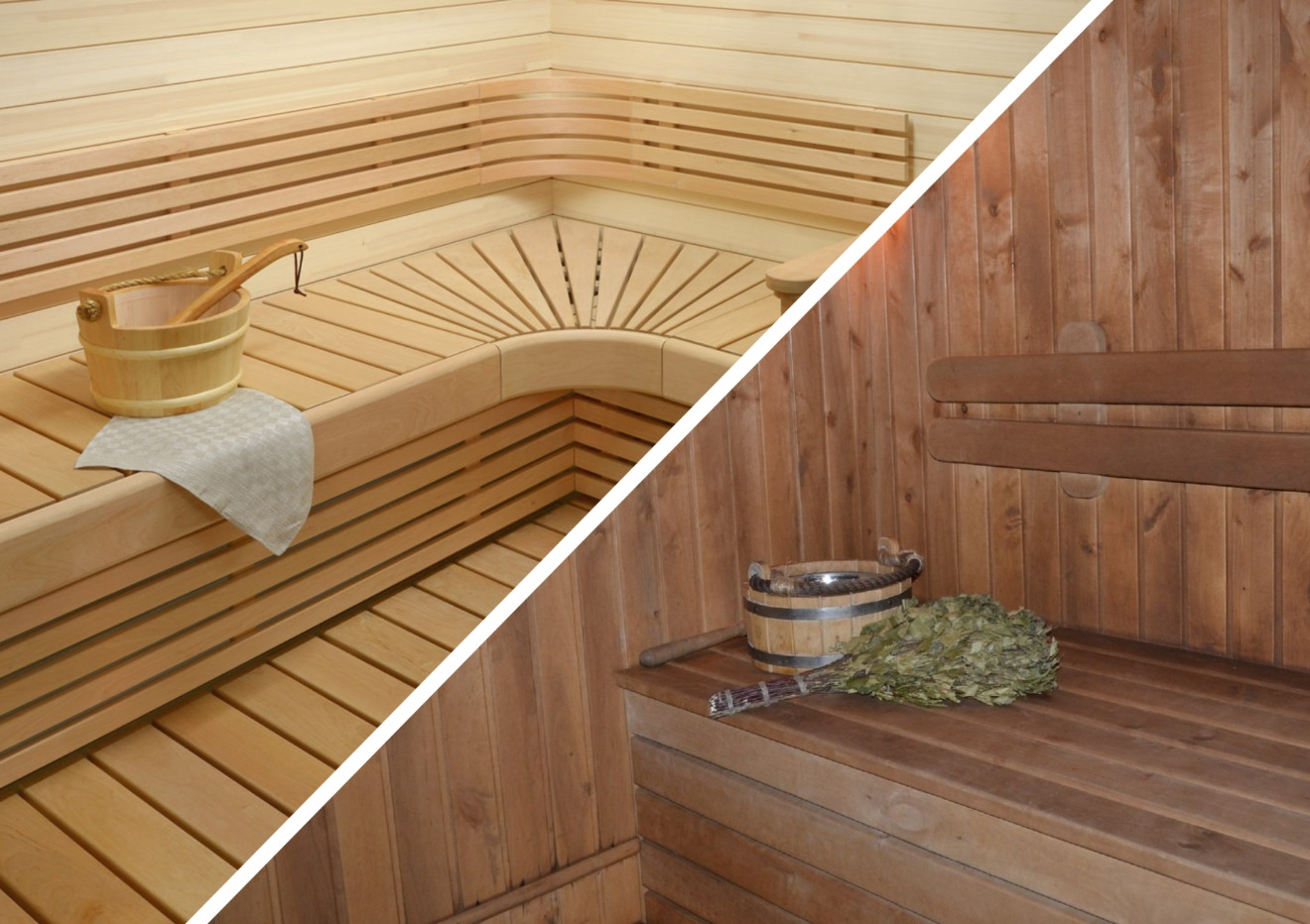 Пропитка полка в бане и сауне воском