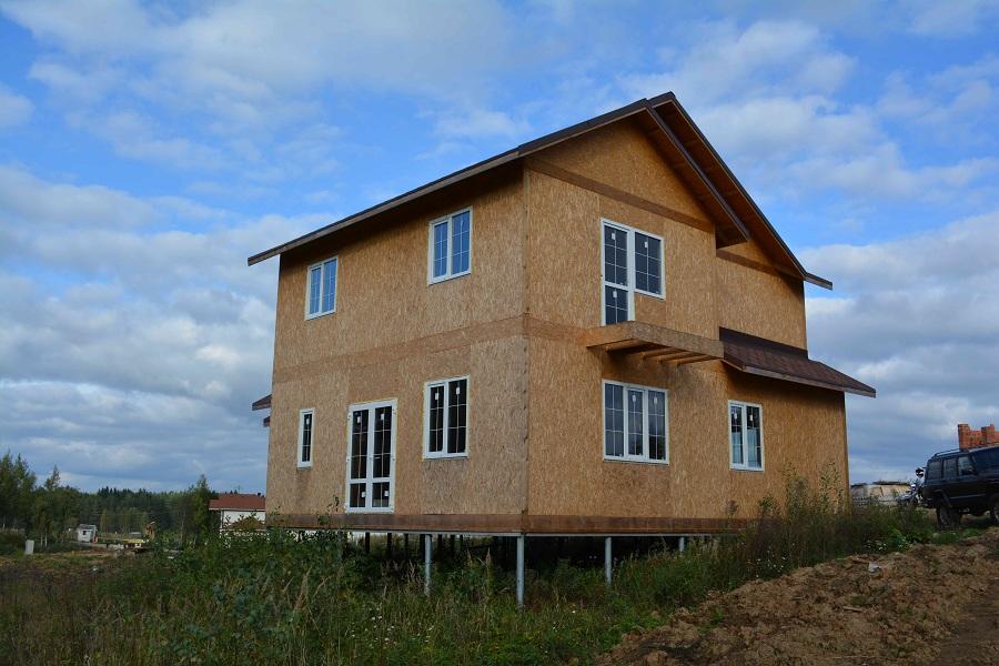 Утепление и отделка дома из SIP-панелей в КП Ла-Манш (МО), фото 1