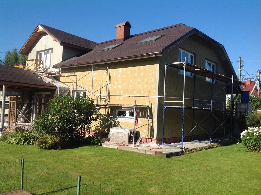 Отделка фасада дома в д. Еремино, фото 3