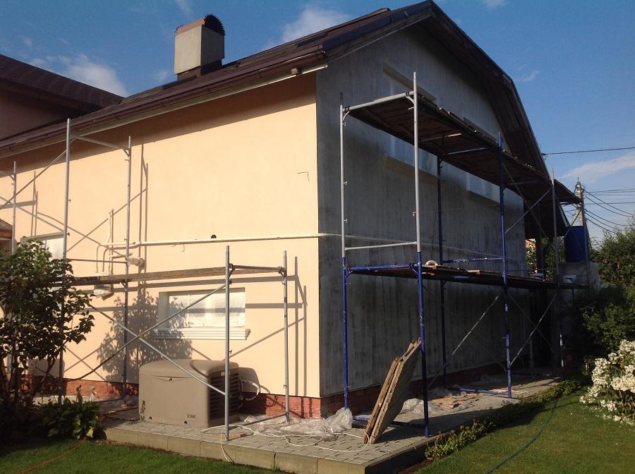 Отделка фасада дома в д. Еремино, фото 5