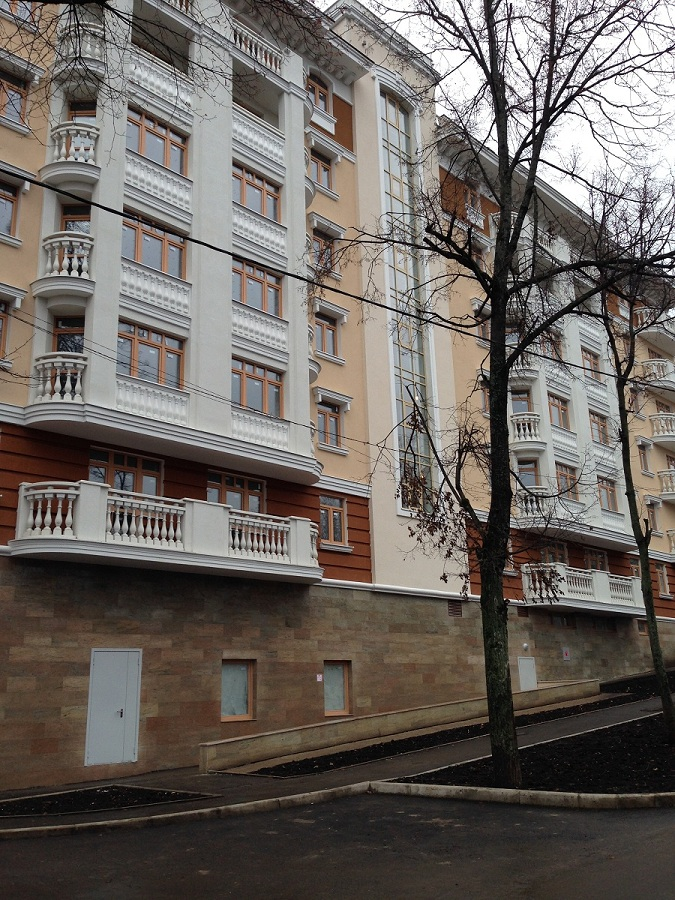 Отделка и декоративная облицовка фасадов в ЖК «Малиновые ручьи», фото 7