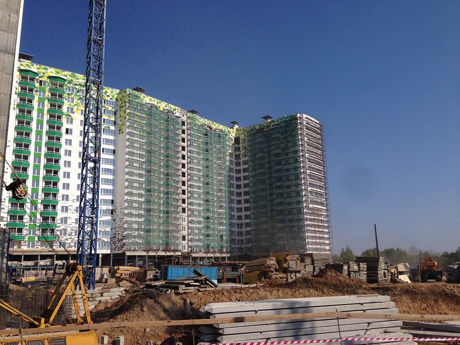 Утепление, отделка и окраска фасадов ЖК «Монолит» (Нижний Новгород), фото 4
