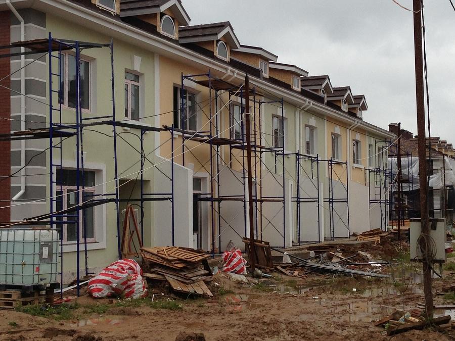 Отделка фасадов жилых многоквартирных домов ЖК «Новое Ступино» в Московской области, фото 13