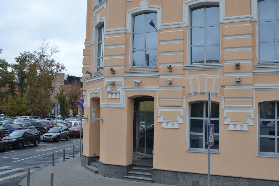 Отделка фасада офисного центра «Аврора» (Москва, ул. Садовническая), фото 10