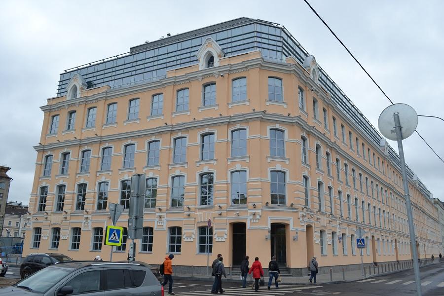 Отделка фасада офисного центра «Аврора» (Москва, ул. Садовническая), фото 2