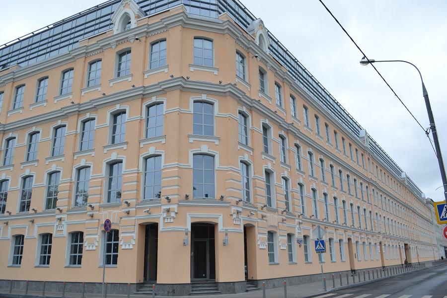 Отделка фасада офисного центра «Аврора» (Москва, ул. Садовническая), фото 3