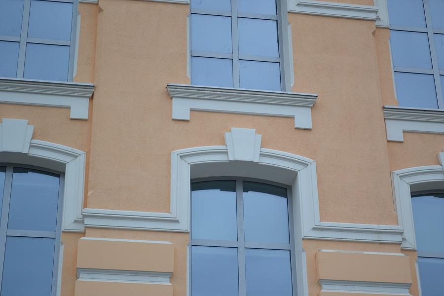Отделка фасада офисного центра «Аврора» (Москва, ул. Садовническая), фото 4