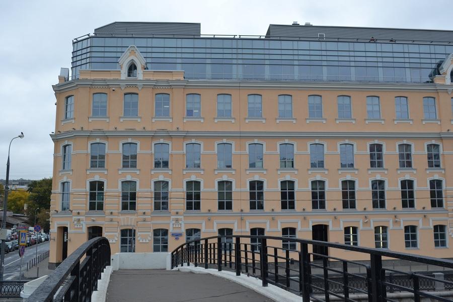 Отделка фасада офисного центра «Аврора» (Москва, ул. Садовническая), фото 6