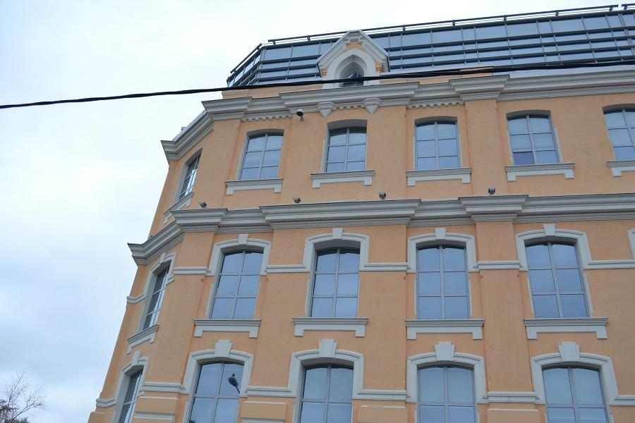 Отделка фасада офисного центра «Аврора» (Москва, ул. Садовническая), фото 8