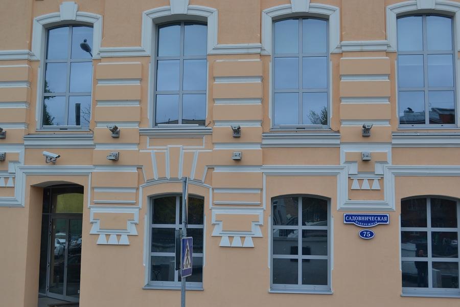 Отделка фасада офисного центра «Аврора» (Москва, ул. Садовническая), фото 9