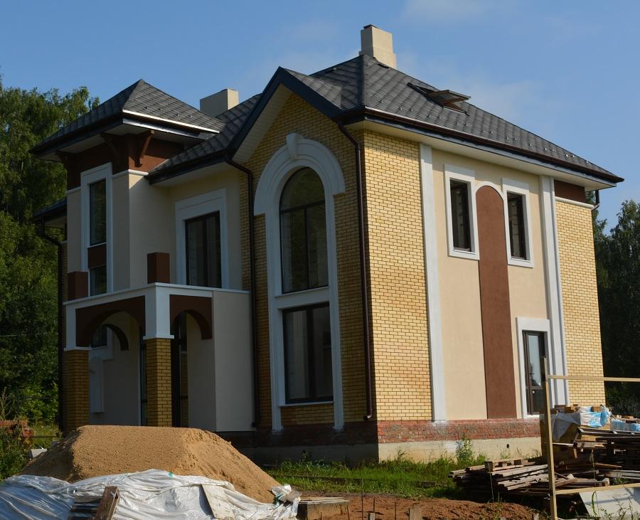 Отделка фасада блочного жилого дома в Старой Ситне, фото 6