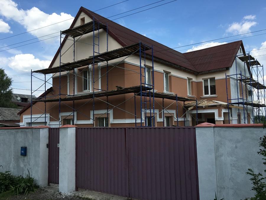 Утепление и штукатурная отделка фасадов домов в Чулково (Московская область), фото 11