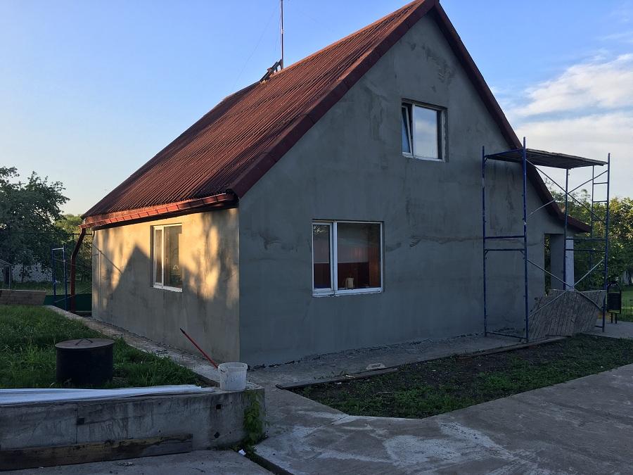 Утепление и штукатурная отделка фасадов домов в Чулково (Московская область), фото 13