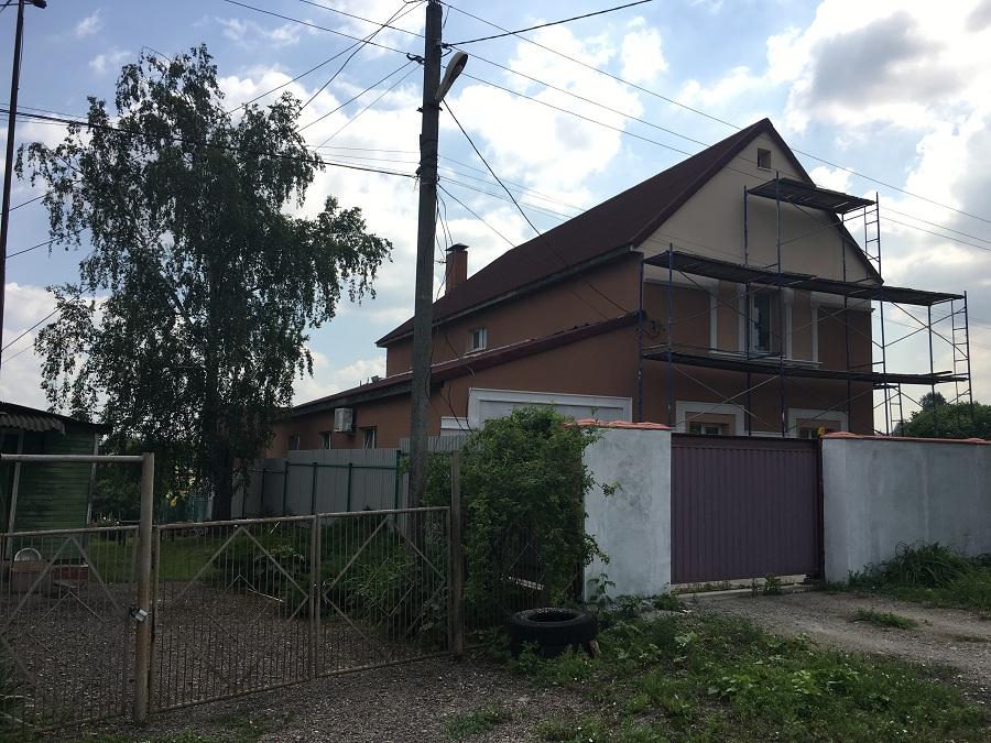 Утепление и штукатурная отделка фасадов домов в Чулково (Московская область), фото 14
