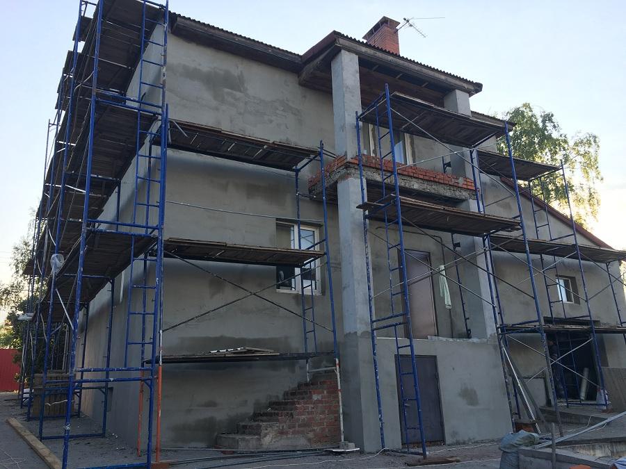 Утепление и штукатурная отделка фасадов домов в Чулково (Московская область), фото 16