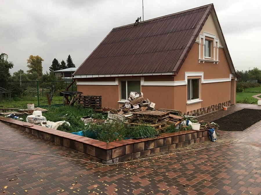 Утепление и штукатурная отделка фасадов домов в Чулково (Московская область), фото 2